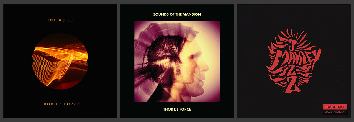 Thor De Force Releases on Ropeadope: The Build, Sounds Of The Mansion, Jazz Marley